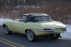 1966 Jaguar XKE Series - my favorite car!