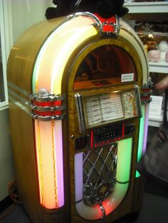 Jukebox, I used to have one as a kid growing up and hope oneday to have one again!!!