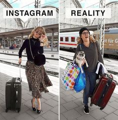 Shameless Times Social Media Lied To Us Funny Photos, Funny Images, Instagram Vs Real Life, Fake Life, Memes In Real Life, Comedy Memes, German Women, Kids Laughing, Glamour Photo
