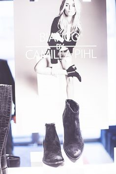 My Bianco Launch Today | Camilla Pihl // ankle boots