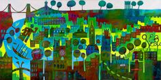 Bristol! - Giclee Print By Jenny Urquhart | The Bristol Shop
