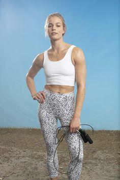 Pantalon Capri Excel Roxy rrp £ 36 legging gym yoga jogging