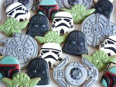 STAR WARS cookies, amazing