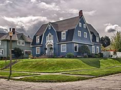 The Modern Cottage Dutch Colonial Exterior, Modern Cottage, House Tours, Beautiful Places, House Design, Mansions, House Styles, Decorating Ideas, Houses