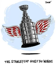 The Stanley Cup gives you wings :]