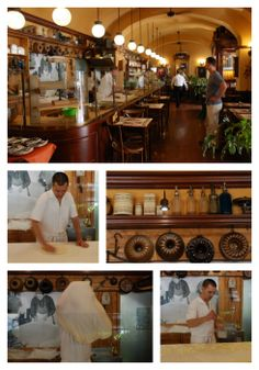 First Strudel House of Pest is located in a historic building in the city center.