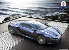 Maserati Bora concept...this is serious.