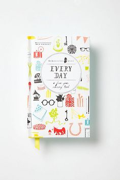 Every Day: A Five-Year Memory Book #anthropologie
