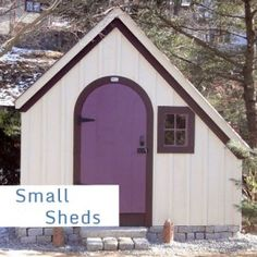Jamaica Cottage Shop sheds can be customized to have the colors, siding, windows, doors, and roof of your choice ! http://jamaicacottageshop.com/shop/hardware-shed/