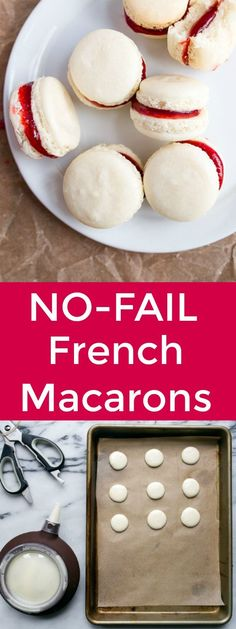 This one tip from a pastry chef will make French macarons work for you on the first try--I promise! Small batch macarons: my favorite small batch cookie recipe dessert for two.