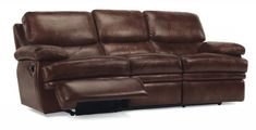 Dylan Leather Reclining Sofa by #Flexsteel via Flexsteel.com