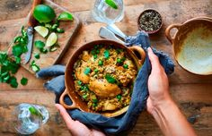 Baked biryani chicken and rice - Heart Matters magazine