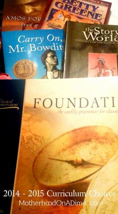 Our 2014 – 2015 Homeschool Curriculum for 1st, 2nd, and  5th Grade