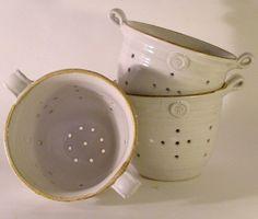 Colander - Hand Thrown Ceramic Pottery