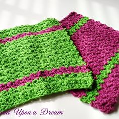 My Favorite Crochet Dishcloths