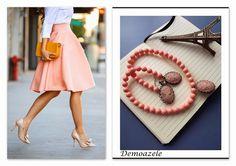 Demoazele: Cochet - Mihaela Necklaces, Collar Necklace, Wedding Necklaces