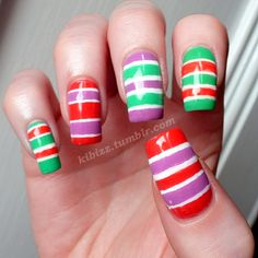 kibizz:  Stripesss! I'm not sure how I feel about these…I love...