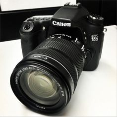 Looking to upgrade your DSLR? Try the 20MP Canon 70D  #photography #gear #canon #camera #dslr