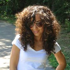 Thick Curly Hair Layered Cut