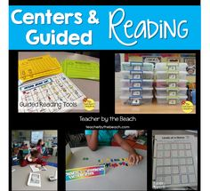 Small Groups - Management Tips for Centers and Guided reading Teacher by the Beach Small Group Reading, Guided Reading Groups, Reading Centers, Reading Workshop, Reading Strategies, Teaching Reading, Literacy Centers, Teacher Blogs, New Teachers