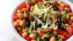 Ensalada de Garbanzos Irani/Iranian Salad - CookingconpausanCookingconpausan