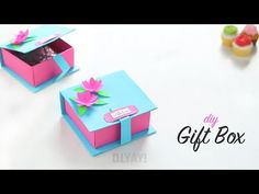 (7) DIY GIFT BOX IDEAS | Gift Ideas | Gift Box - YouTube Diy Gift Box, Diy Box, Gift Tags, Gift Boxes, Origami Paper Art, Diy Paper, Paper Crafts, Origami Ring, Origami Box