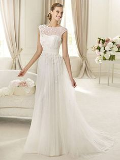Beverly-Vestido de Noiva em tule - dresseshop.pt