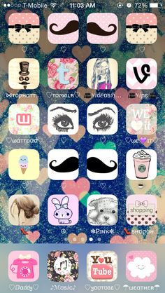 Would you guys be willing to watch a video on how to do this? I also did this to my iPhone home screen. Beth would love the Starbucks icon.