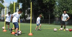 The dribbling challenge in Summer 2013