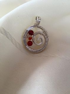 Carnelian Pendant by DevinelyCreated on Etsy Carnelian, Silver Rings, Trending Outfits, Unique Jewelry, Pendant, Handmade Gifts, Etsy, Vintage, Kid Craft Gifts