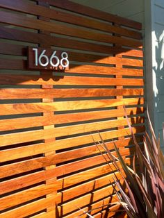 client modern house number photos - modern - garage and shed - phoenix - Modern House Numbers