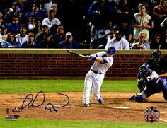 Miguel Montero Signed Chicago Cubs 2016 NLCS Game 1 Grand Slam 8x10 Photo