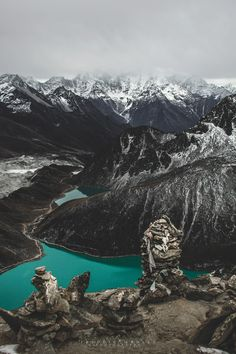 'Gokyo lakes No.2 - The Himalayas, Nepal' 2011 By Freddie ArdleyPhotography