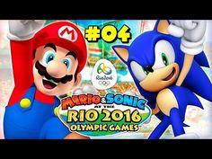 Mario & Sonic en los J. Olimpicos de Rio 2.016 #04