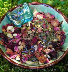 Aphrodite Herbal Spell Blend - Love, Beauty, Passion, Romance, Sex Magick, Bath Tea, Incense, Altar Sprinkle, Mojo Bag, Poppets, Offerings