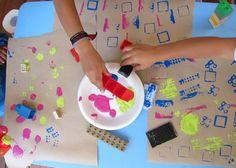 Iniciación al arte sensorial para niños - Blog de BabyCenter