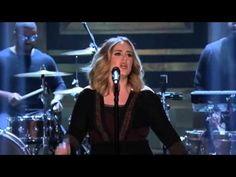 "Probably my favorite song!!! Adele - ""Water Under the Bridge"" (Live at The Tonight Show with Jimmy Fallon 2015) - YouTube"