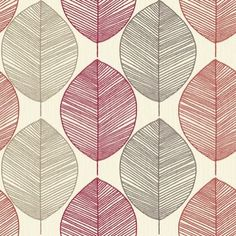 1000 images about decorating on pinterest wallpaper - Red brown and cream wallpaper ...