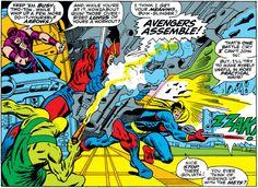 Avengers #55, John Buscema