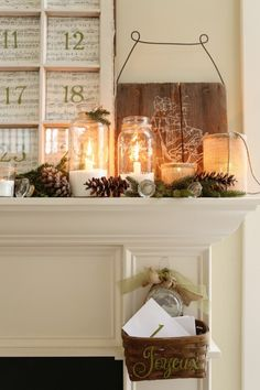 http://decornic.com/fascinating-candle-holder-ideas-for-fireplace/ Candle Holder Ideas for fireplace
