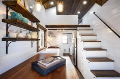 Tiny House for Sale - 26ft Tiny Home with Split Pitch Roof