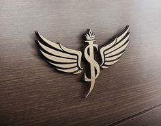 S Logo Design, Lettering Design, Design Art, Sj Logo, S Love Images, Angels Logo, Alphabet Wallpaper, Luxury Logo, Jewelry Logo