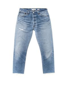 RE/DONE Levis Relaxed crop
