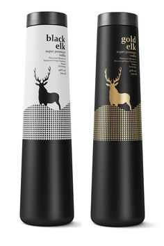 Black Elk Vodka | Hi Friends, want to see more pins like this? Make sure to follow our board @moirestudiosjkt #packaging #vodka #vodkabrands