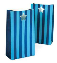 Party Bags - Sherbet Blue