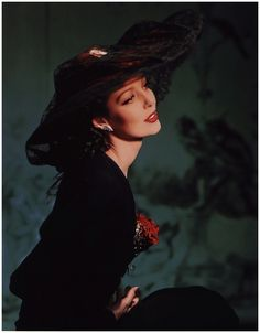 Loretta Young, photographed in New York by Horst P. Horst (1941)