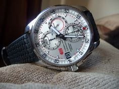 Recently a friend of mine brought into my attention a Chopard Mille Miglia GT XL Chrono. I was not very excited in the first place because the Chopard watches are not very popular, especially the men's collections. But my friend really insisted in getting my opinion on his watch so this is exactly what I am going to do. After all it is a good thing that I am adding a new watch category to my blog.