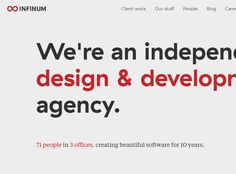 Design and development — Infinum
