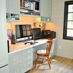 Two Person Office Design Ideas, Pictures, Remodel, and Decor - page 21