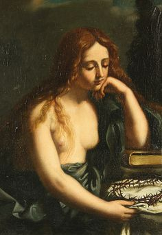 Il Guercino, Penitent Magdalene, 1591-1666